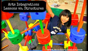 Arts Integration: Lessons vs. Structures