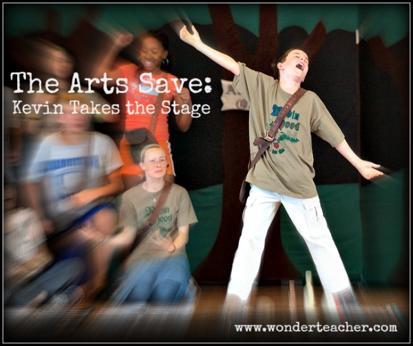 The Arts Save: The story of the power of the arts to support challenging students