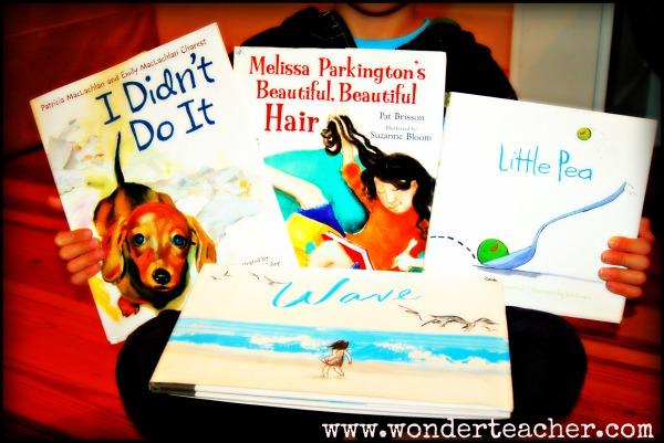 10 Wonder Books via Wonder Teacher