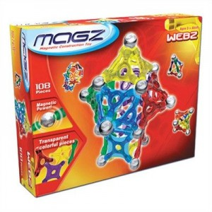 webz magnetic building set