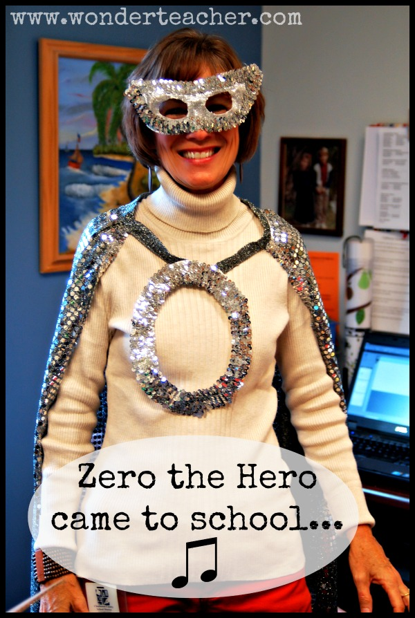 Zero the Hero costume via Wonder Teacher