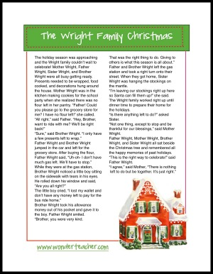 free download wright family christmas story