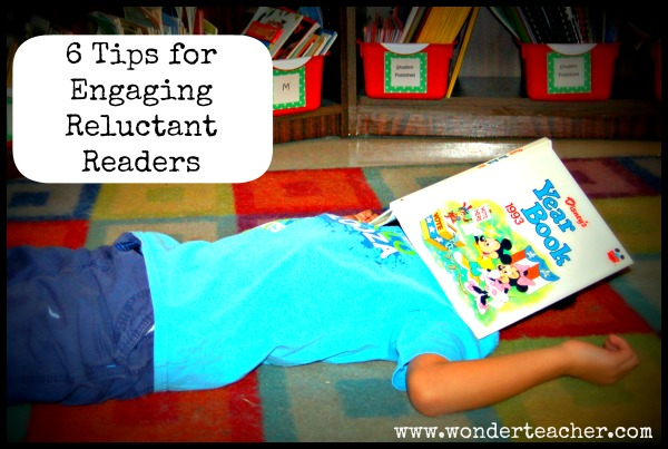 6 Tips for Engaging Reluctant Readers