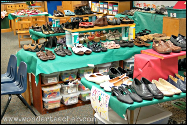Cassie Norvell's Shoe Store via Wonder Teacher