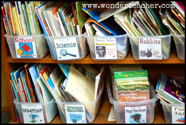 How to Organize a Classroom Library via Wonder Teacher