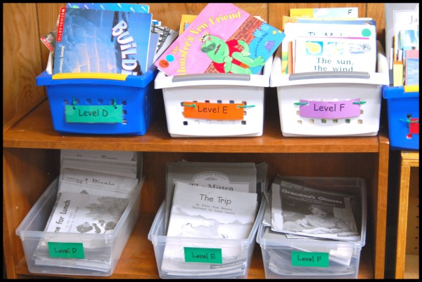 Leveled Books in Classroom Library via Wonder Teacher
