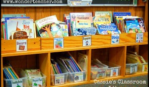 This Classroom Library Rocks via Wonder Teacher