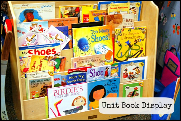 Classroom Library Book Display
