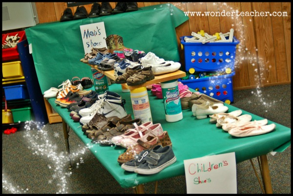 Authentic Learning through the Shoe Store Unit via Wonder Teacher
