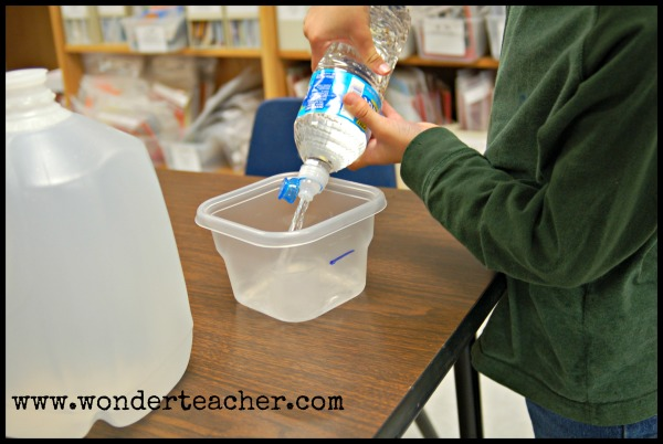 Bringing water into the classroom