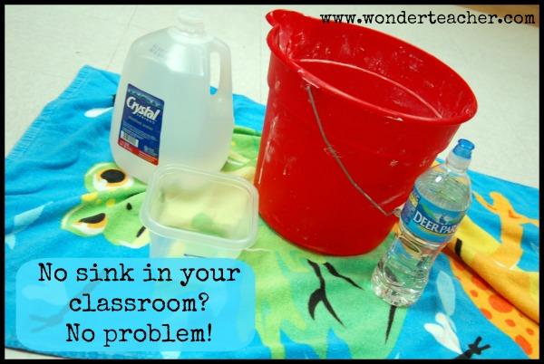 Bucket method for water