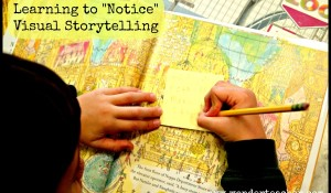 Learning to notice visual storytelling in picture books via Wonder Teacher