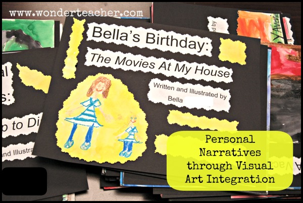 Personal Narratives through Visual Art Integration