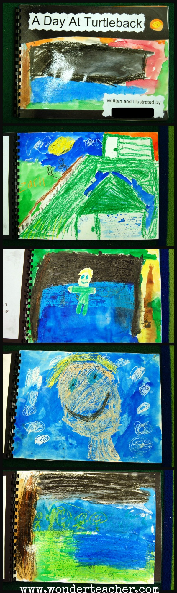 Writing and Art Integration- Turtleback Creek Story
