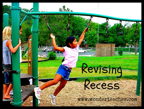 Revising Recess with Wonder Teacher