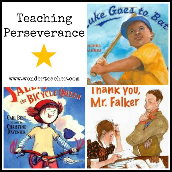 Teaching Perseverance via Wonder Teacher