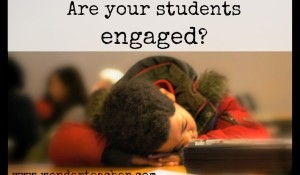Tips for increasing student engagement