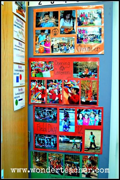 Classroom Photo Boards