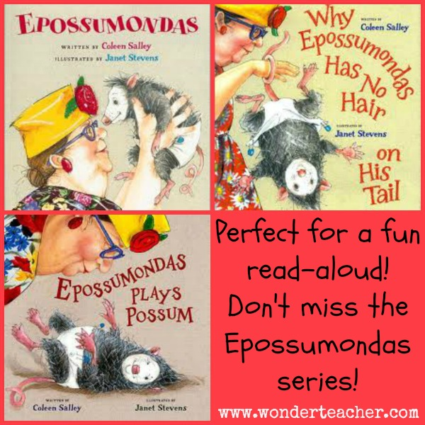 Epossumondas Noodlehead Series- fun read alouds!