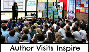 Author visits inspire young writers