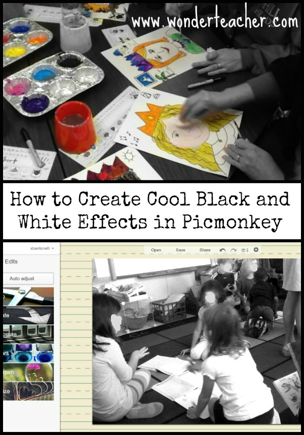 Tutorial- How to Create Cool Black and White Photo Effects in Picmonkey