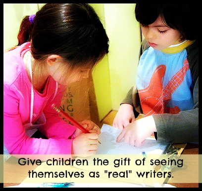 children are real writers