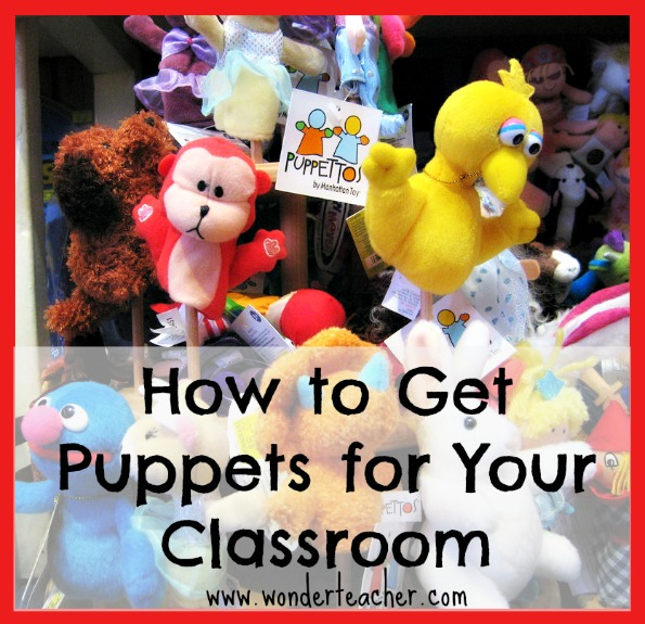 How to get puppets for your classroom