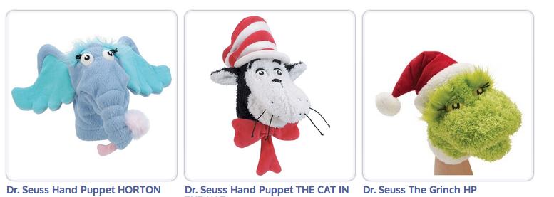 Seuss puppets