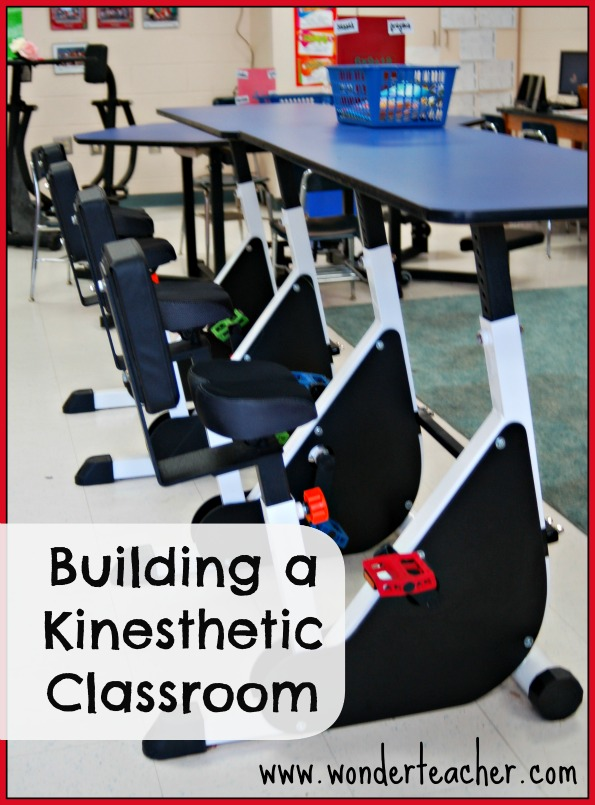 Building a kinesthetic classroom via Wonder Teacher