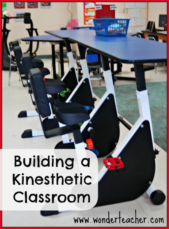 Building a kinesthetic classroom via Wonder Teacher