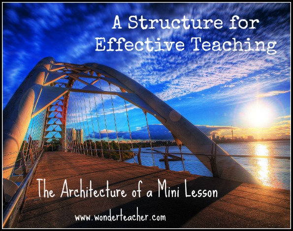 Effective teaching through mini lessons