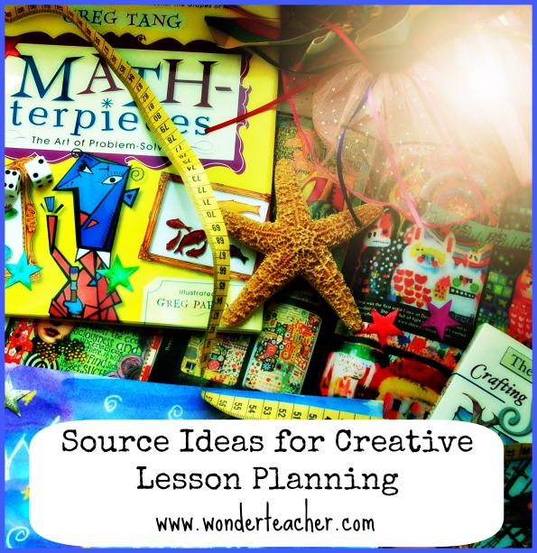 Source Ideas for Creative Lesson Planning