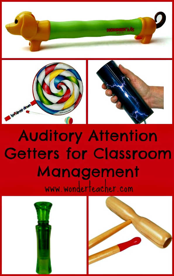 attention getters for classroom management