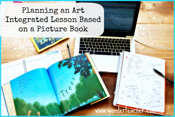 Planning an Art Integrated Lesson Plan Based on a Picture Book