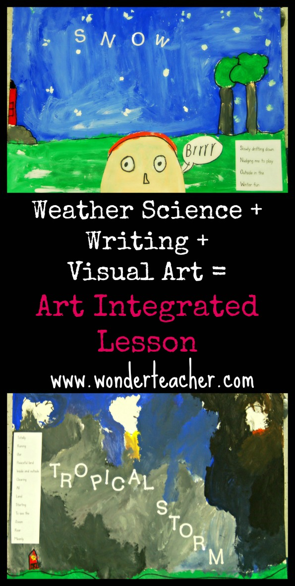 Arts Integration Project with Weather and Writing